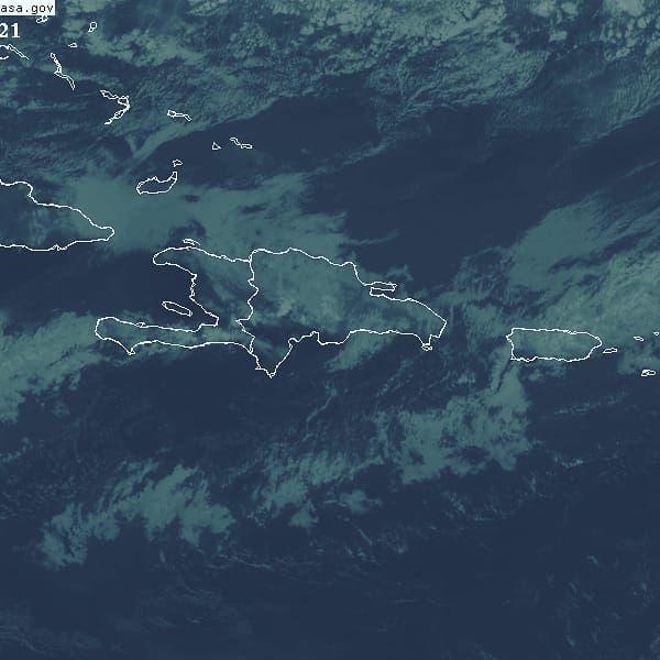 Informe del tiempo: lluvias débiles y oleaje anormal