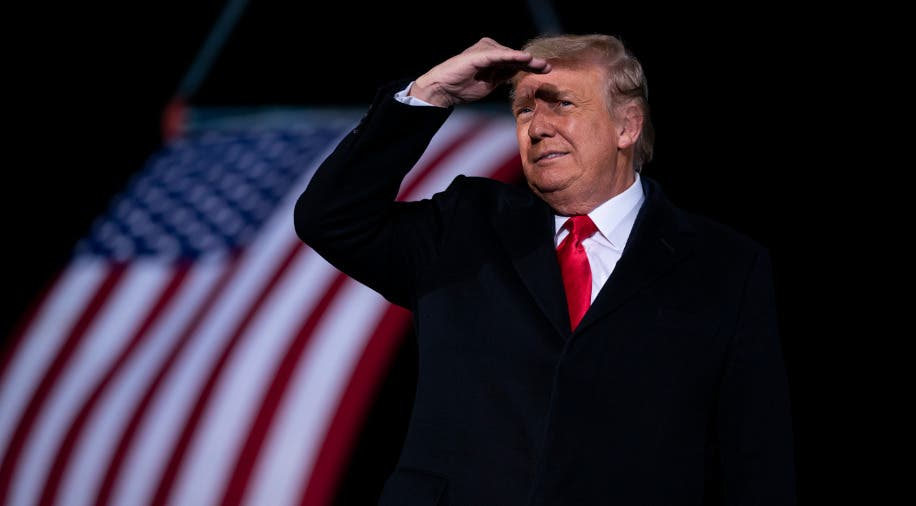 Confusión por el anuncio del fin del mandato de Trump en una web oficial