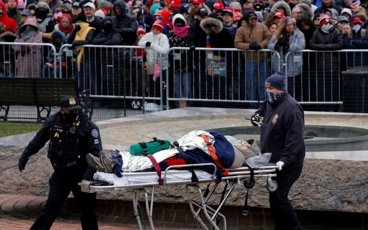 Fallece la mujer herida de bala en asalto al Capitolio de EEUU
