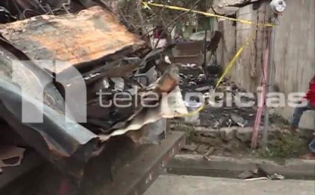 Dos niños murieron en incendio de una casa en San Cristóbal