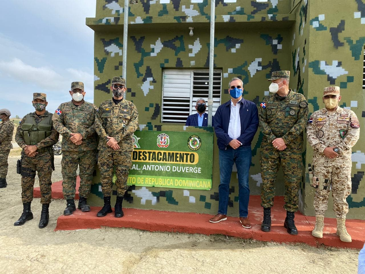 Presidente Abiander llega a la zona fronteriza de Elías Piña