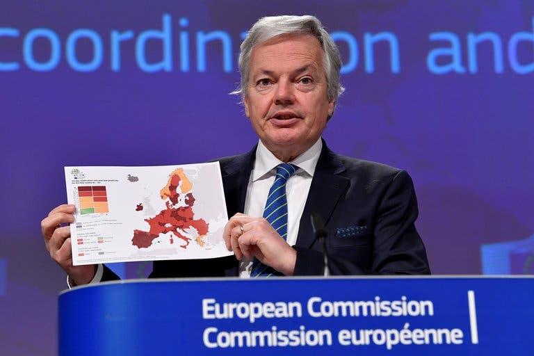Unión Europea recomienda confinar regiones de alto riesgo ante avance del coronavirus