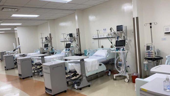 Ocupación de camas covid y camas UCI en el Gran Santo Domingo y Santiago
