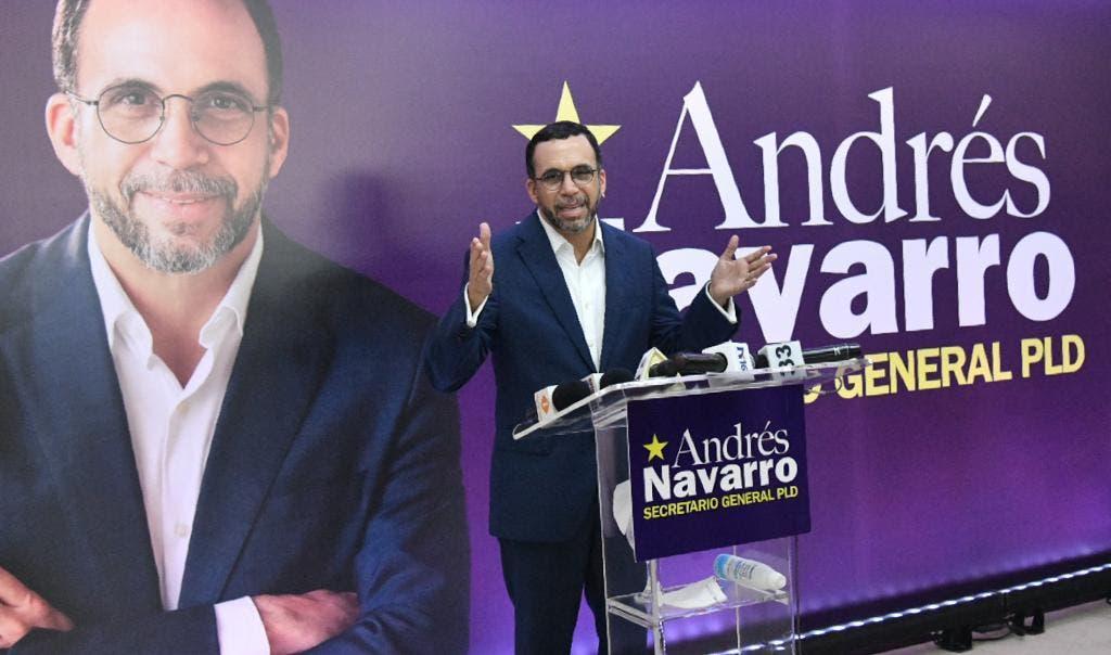 Andrés Navarro aspira dirigir Secretaría General del PLD