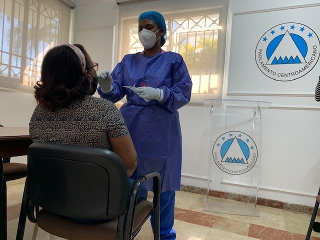 Subsede Dominicana del PARLACEN realiza operativo de pruebas COVID-19