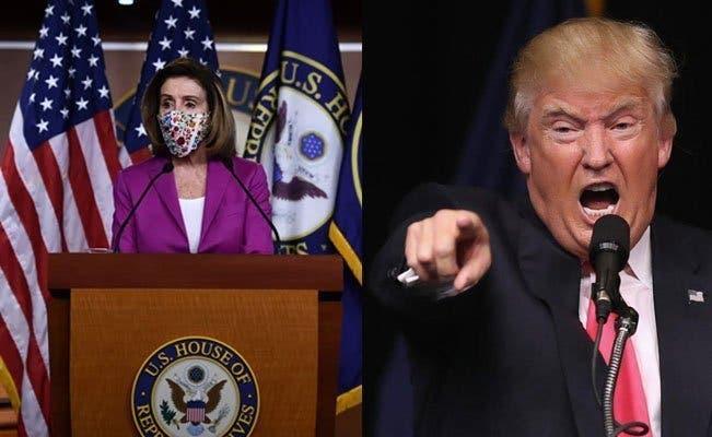 Pelosi: La cámara baja procederá a enjuiciar a Trump