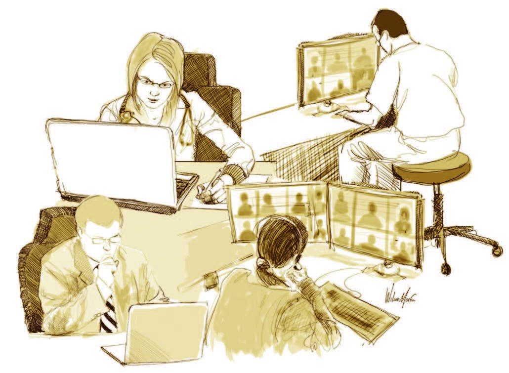 Pandemia: educación médica en línea
