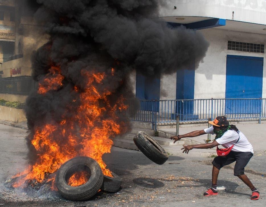 Huelga paraliza Haití en plena crisis por falta de combustible y violencia
