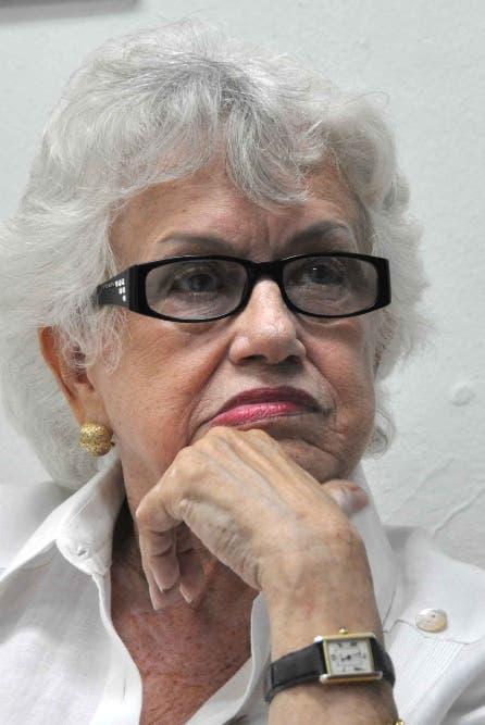 Milagros Ortiz Bosch sobre regidor de Higüey: «Nada podrá evitar que enfrente la justicia»