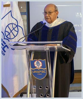 Ratifican rector de Unapec por tercera vez