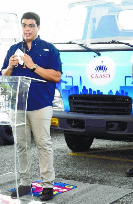 CAASD aclara no subirá tarifa agua; busca mejora