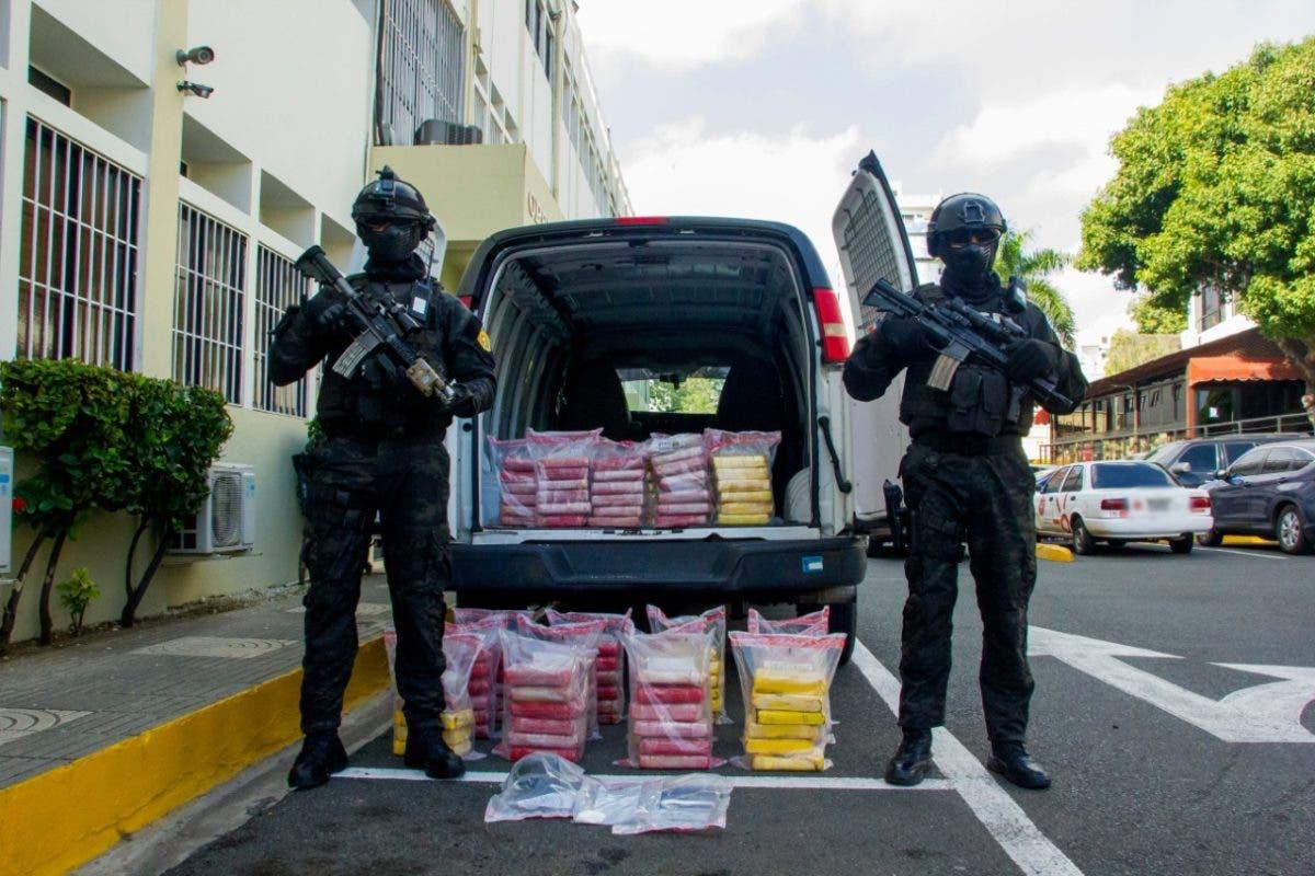 Ocupan 126 paquetes de cocaína en La Altagracia