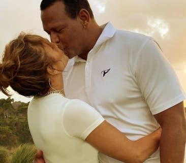 Con estas fotos, Jennifer López y Alex Rodríguez desearon feliz  Independencia Dominicana