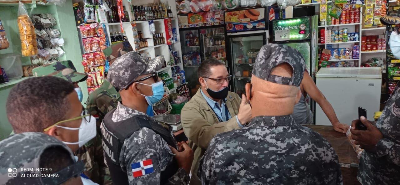 Incautan bocinas y notifican a negocios por ruido en Villa Duarte