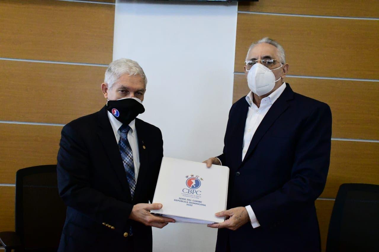 Lidom recibe de la CBPC el manual para montaje de Serie del Caribe 2022
