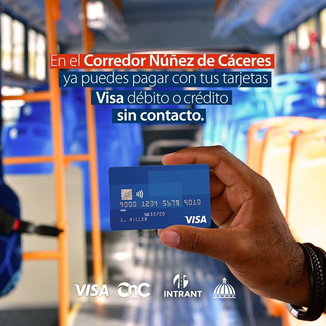 Ahora se podrá pagar con Visa en la nueva ruta Núñez de Cáceres