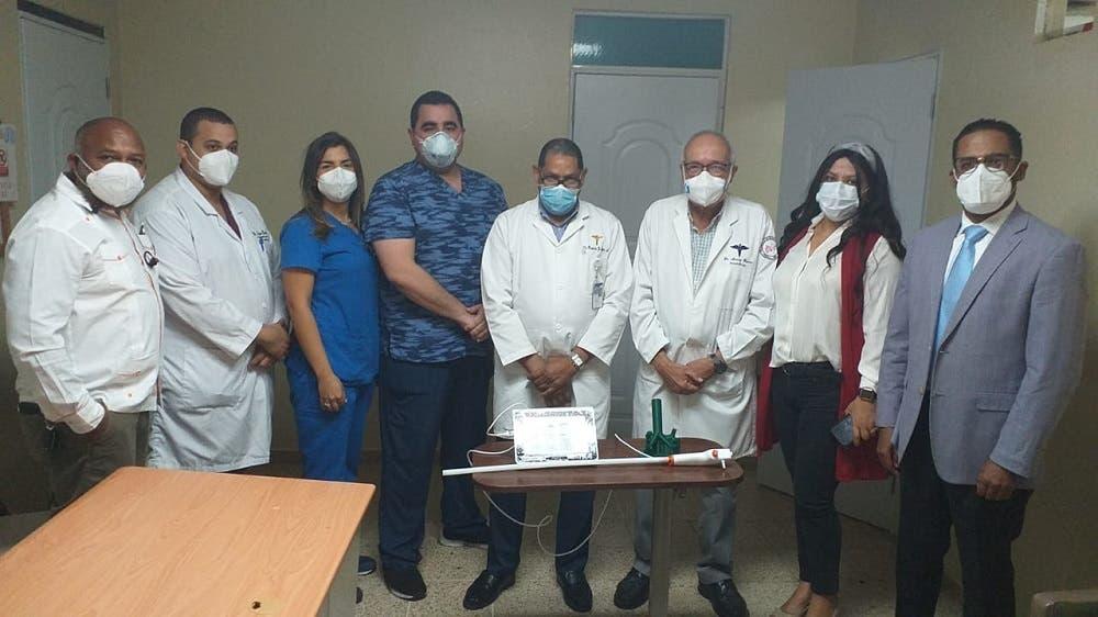 Donan equipo de última generación a Neumología del hospital Gautier