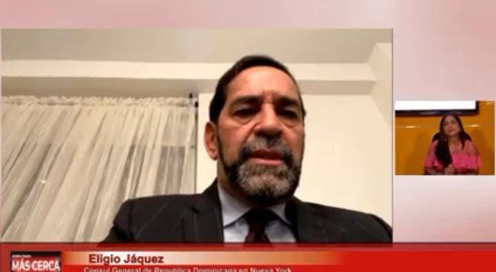 Jáquez dice su hermano estará en la nómina Consulado NY hasta que le salga otro nombramiento