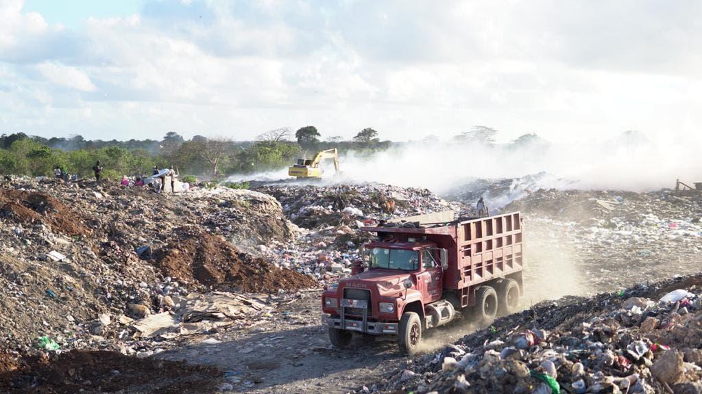 Avanzan trabajos en vertederos de Haina y Punta Cana-Macao