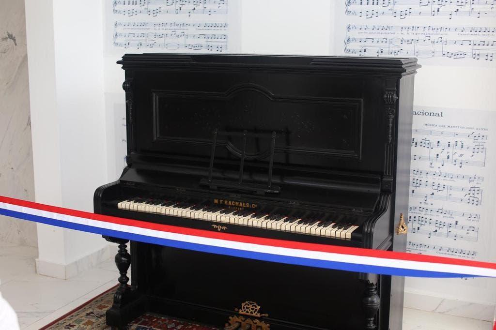 Restauran piano en el que se tocó Himno Nacional por primera vez