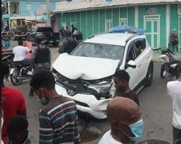 Accidente de tránsito en azua
