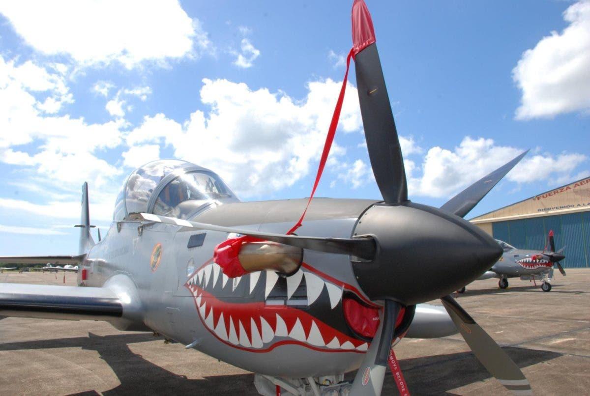 RD vigila la frontera con aviones Super Tucano por la crisis en Haití