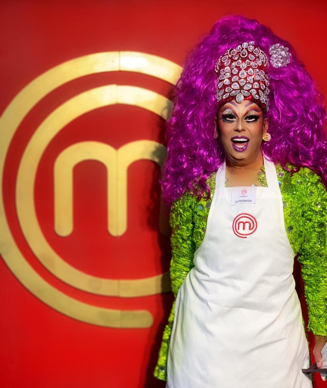"""La Pitonisa llega a """"MasterChef Celebrity"""" 2da temporada y sorprende a los jueces"""