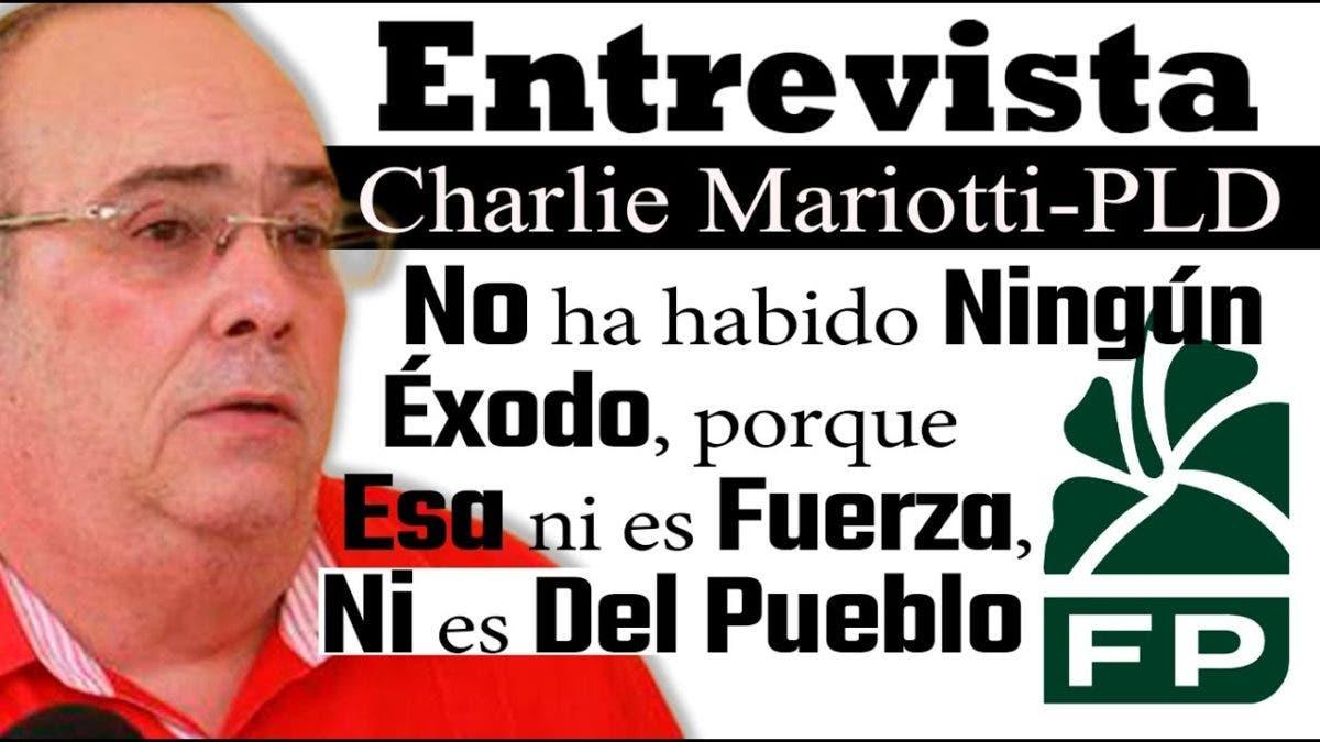 Entrevista a Charlie Mariotti en el programa Telematutino 11