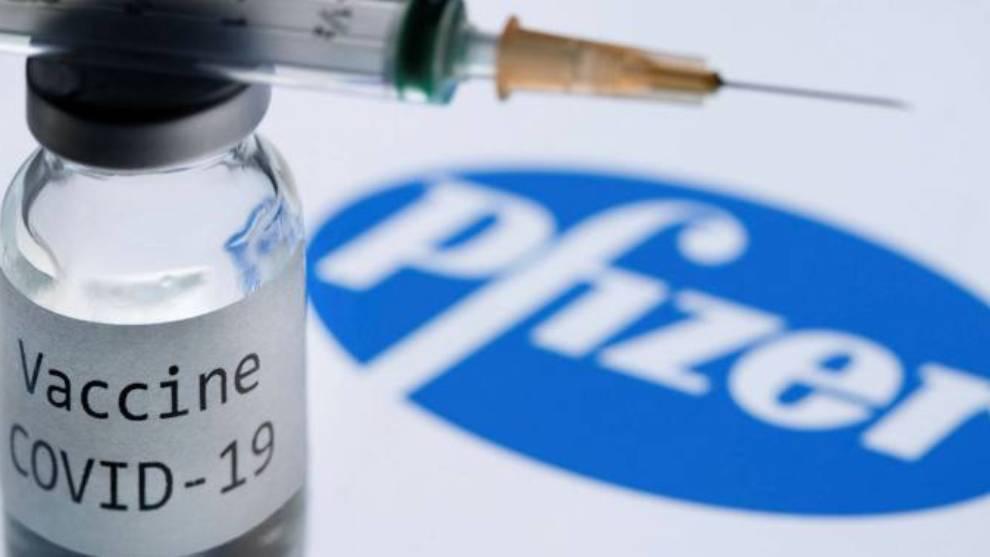 Primera dosis de vacuna de Pfizer es bastante efectiva