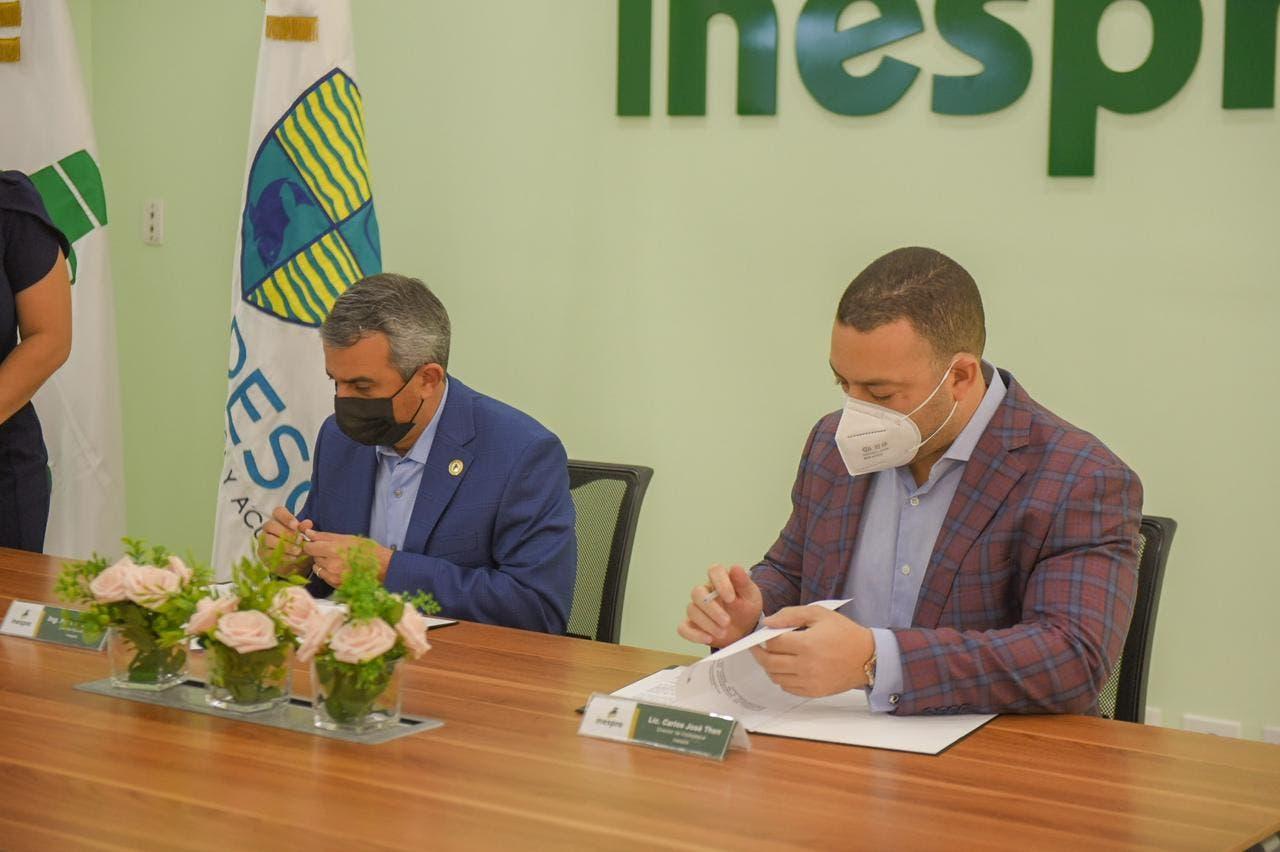 CODOPESCA e INESPRE firman acuerdo