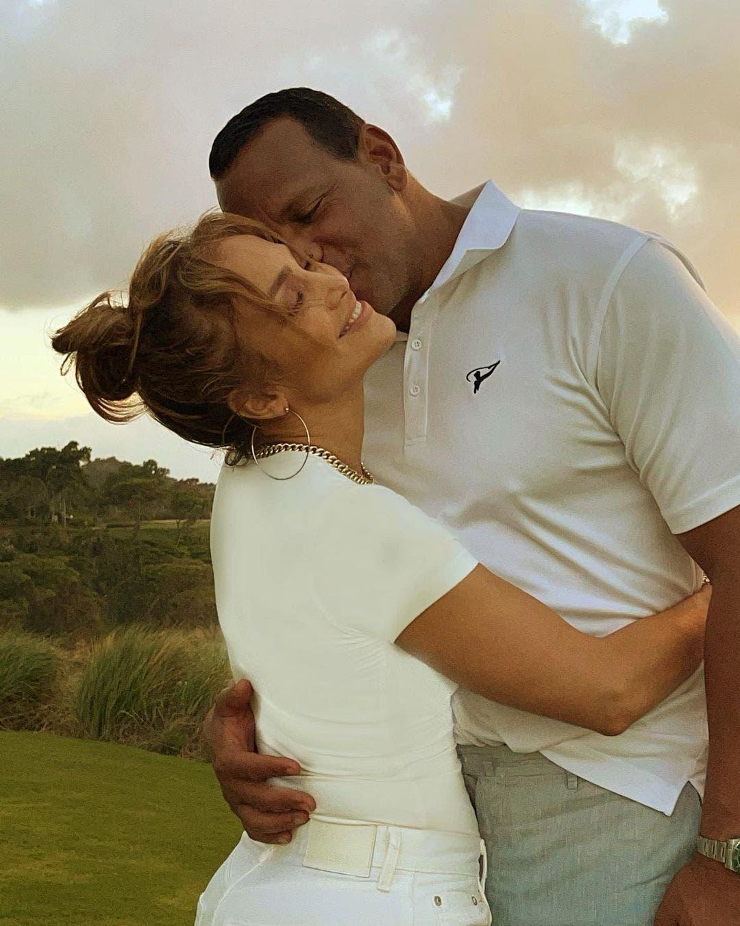 Imágenes confirman la reconciliación de Jennifer López y Alex Rodríguez