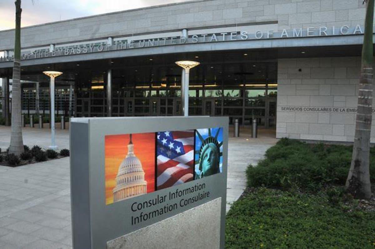 Embajada EE. UU. en RD anuncia reanudación de operaciones