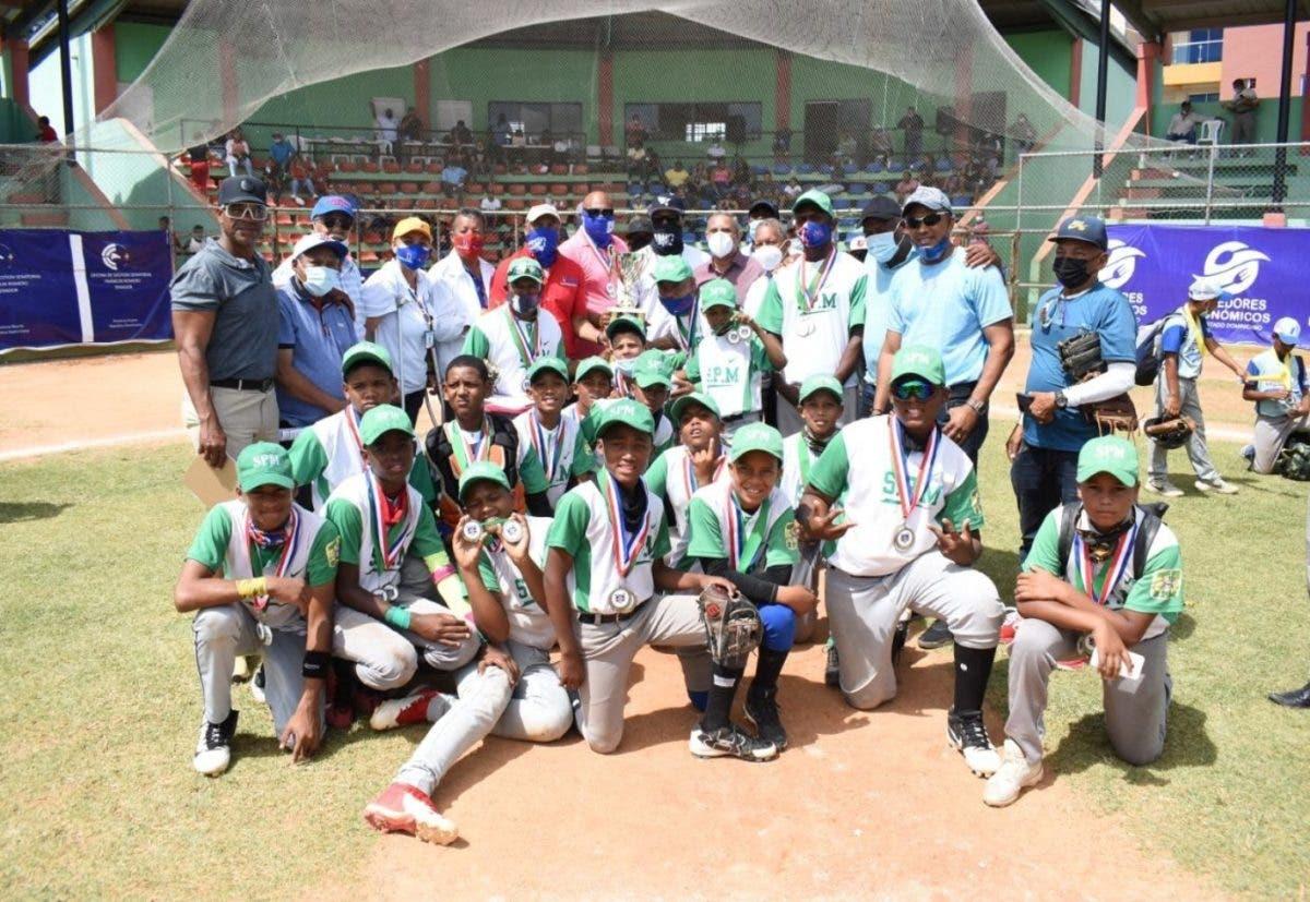 San Pedro de Macorís campeón Torneo Nacional de Béisbol U-12