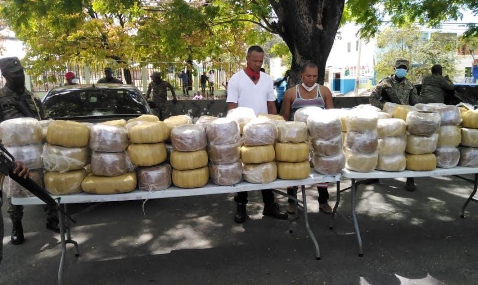 Ejército decomisa 773 libras de marihuana