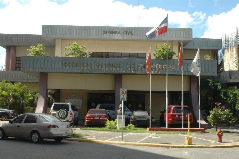 COE eleva a 6 provincias en alerta verde por sistema frontal