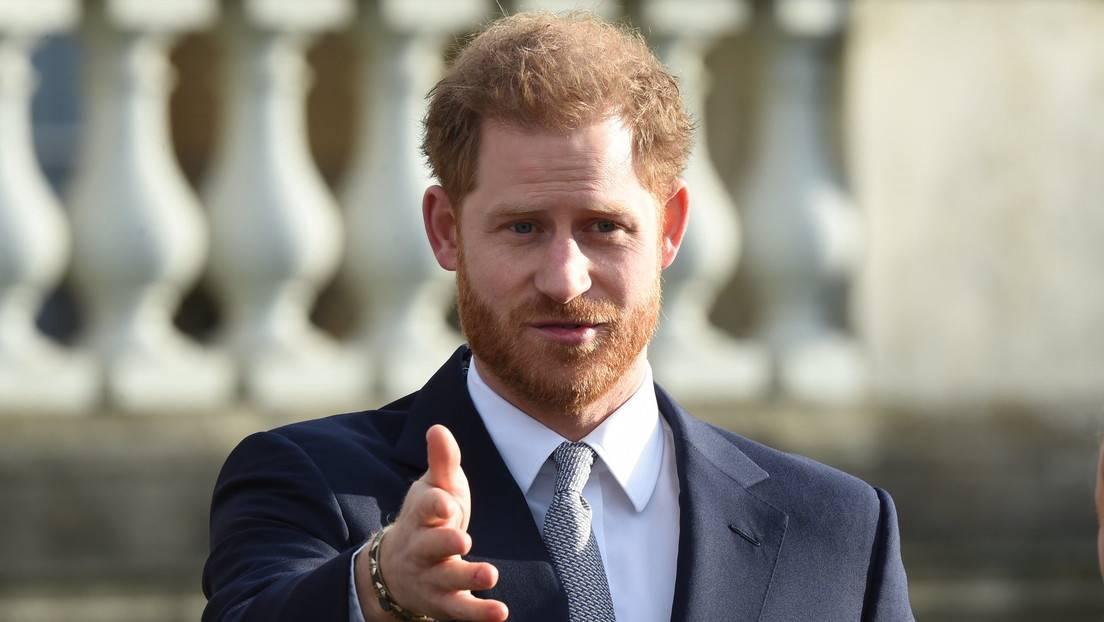 El príncipe Enrique dijo estar decepcionado de su padre