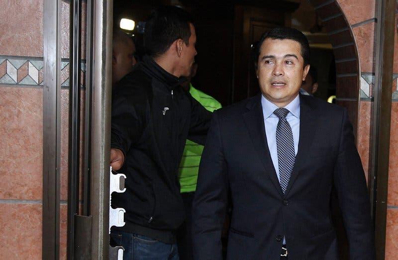 Cadena perpetua a hermano de presidente de Honduras