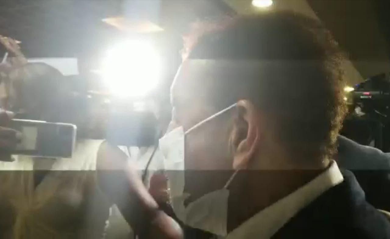 Diandino Peña compareció por más de tres horas ante la Pepca