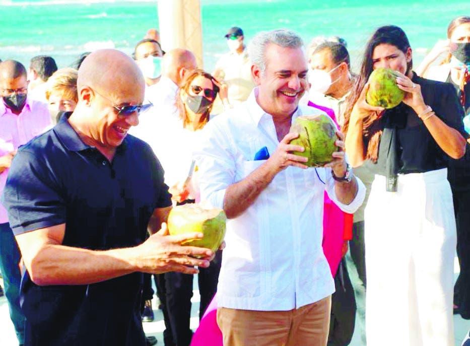 Vin Diesel desarrollará un proyecto cinematográfico en Puerto Plata
