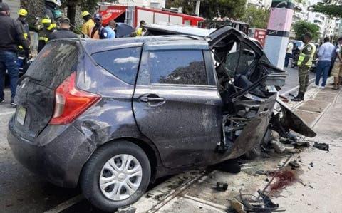 DIGESETT explica cómo ocurrió accidente de la avenida Anacaona