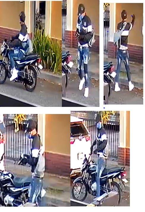 Video muestra cómo señor de más 70 años es asaltado frente a su casa