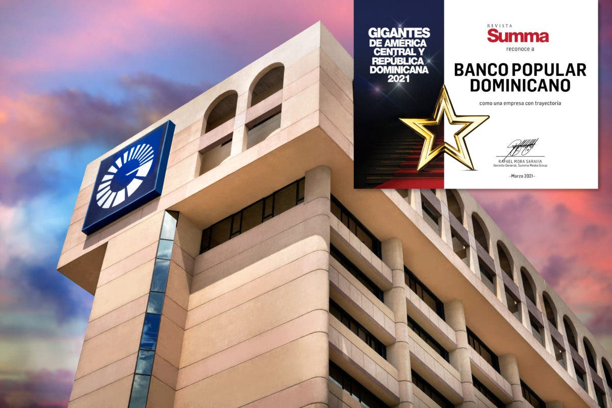 Revista Summa elige al Popular como una de las empresas gigantes de la región