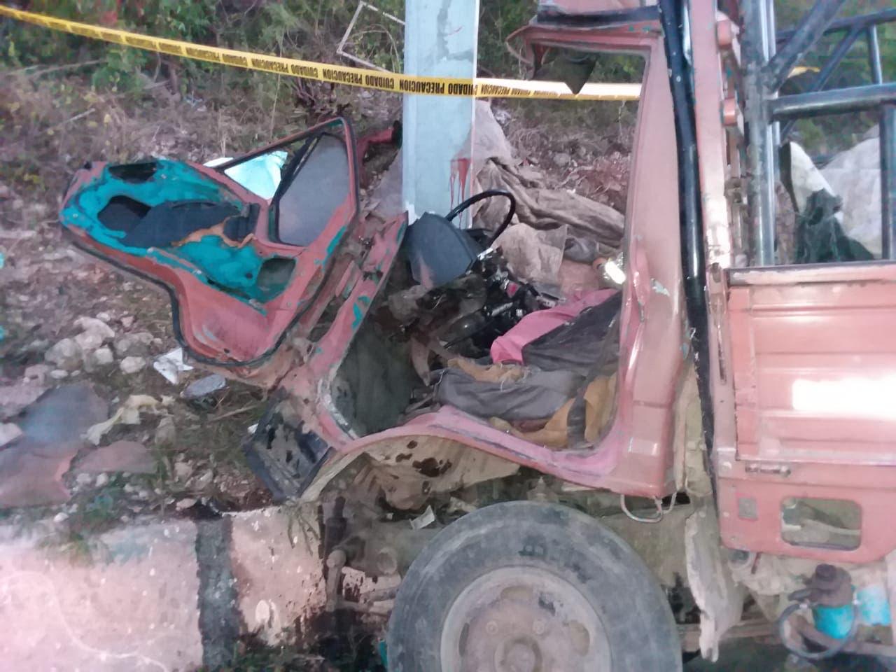 Tres muerto en accidente en la carretera La Romana-San Pedro