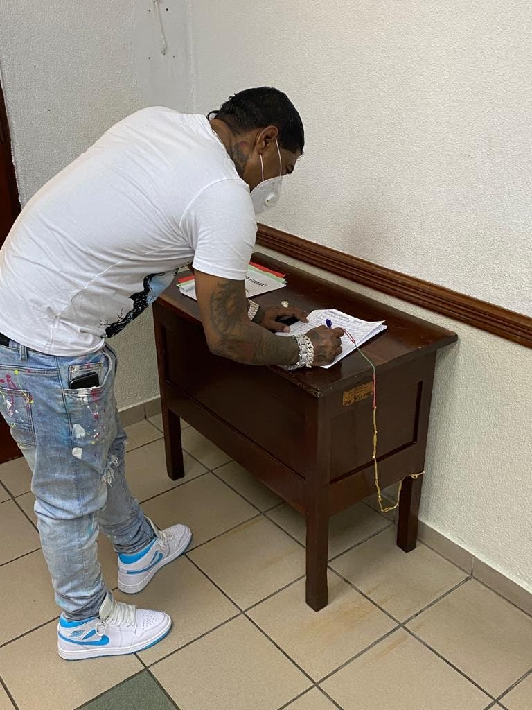 Félix Portes desmiente afirmaciones de Fiscalía de que Omega incumplió reglas libertad condicional