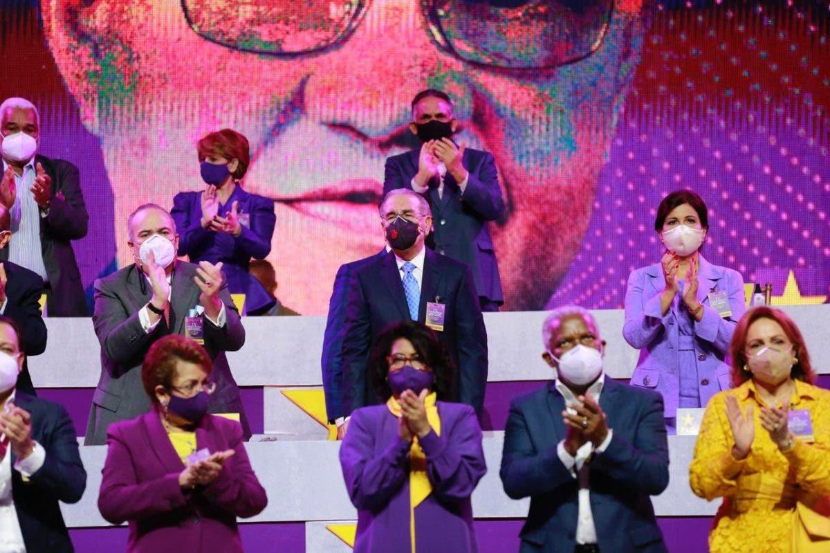 Juramentan a Danilo Medina como presidente y miembros del Comité Político del PLD para los próximos cuatro años