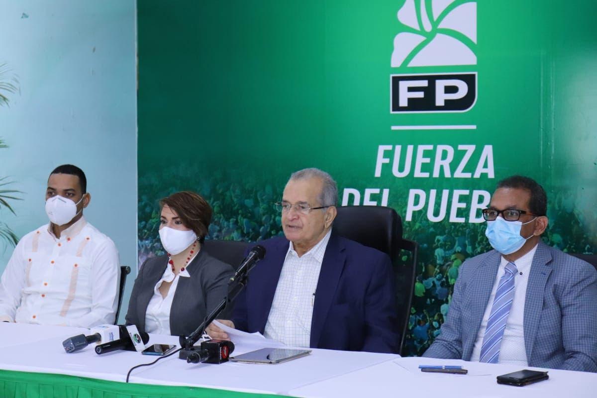 Fuerza del Pueblo celebrará Plenaria de Congreso en Palacio de los Deportes