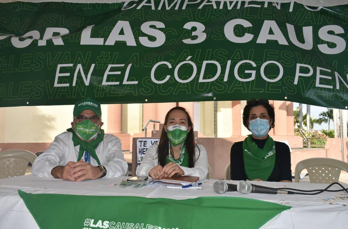 Participación Ciudadana expresa apoyo a movimiento por las tres causales
