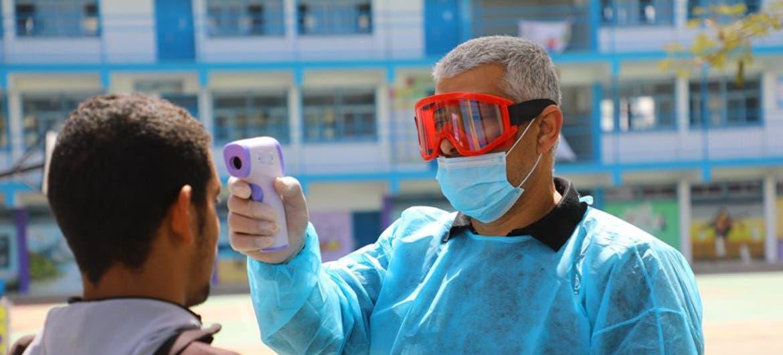 Gaza detecta los primeros casos de la variante británica del coronavirus