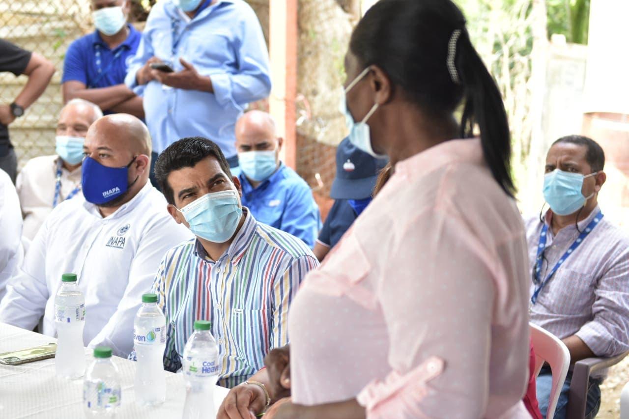 Director de INAPA realiza recorrido de inspección en Yaguate, Hato Damas, Hatillo, Nigua y San Cristóbal