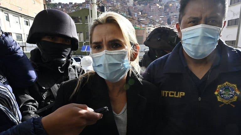 La justicia boliviana autorizó el traslado de Jeanine Áñez a un hospital por motivos de salud